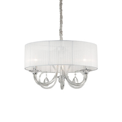 Ideal Lux - Organza - SWAN SP3 - Lampada a sospensione - Bianco - LS-IL-035840
