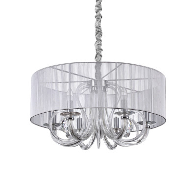 Ideal Lux - Organza - SWAN SP6 - Lampada a sospensione - Nessuna - LS-IL-208152