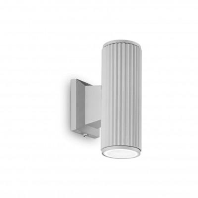 Ideal Lux - Outdoor - Base AP2 - Lampada da parete - Grigio - LS-IL-129440