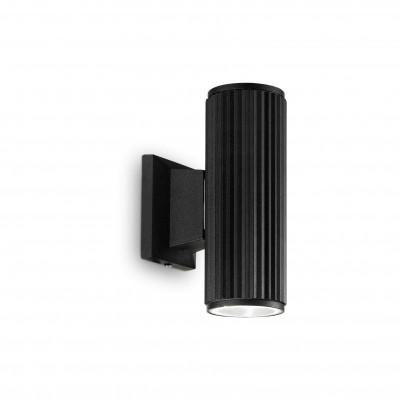 Ideal Lux - Outdoor - Base AP2 - Lampada da parete - Nero - LS-IL-129433