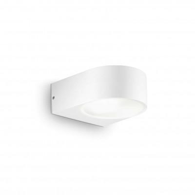 Ideal Lux - Outdoor - Iko AP1 - Applique moderna con doppio diffusore - Bianco - LS-IL-018522