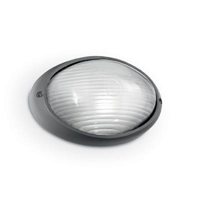 Ideal Lux - Outdoor - MIKE-50 AP1 BIG - Applique da esterno - Antracite - LS-IL-061818