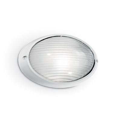 Ideal Lux - Outdoor - MIKE-50 AP1 BIG - Applique da esterno - Bianco - LS-IL-066882