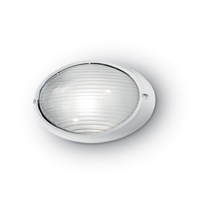 Ideal Lux - Outdoor - MIKE-50 AP1 SMALL - Applique - Bianco - LS-IL-066899
