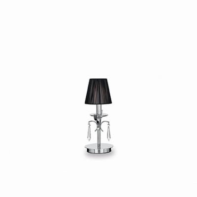 Ideal Lux - Provence - ACCADEMY TL1 SMALL - Lampada da tavolo - Cromo - LS-IL-023182