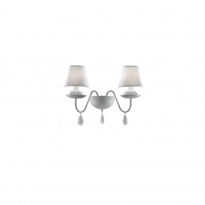 Ideal Lux - Provence - BLANCHE AP2 - Applique - Bianco - LS-IL-035598