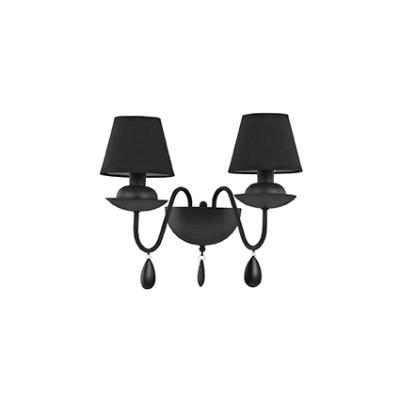 Ideal Lux - Provence - BLANCHE AP2 - Applique - Nero - LS-IL-111889