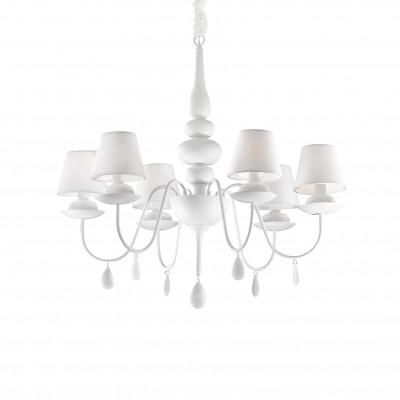 Ideal Lux - Provence - BLANCHE SP6 - Lampada a sospensione - Bianco - LS-IL-035581