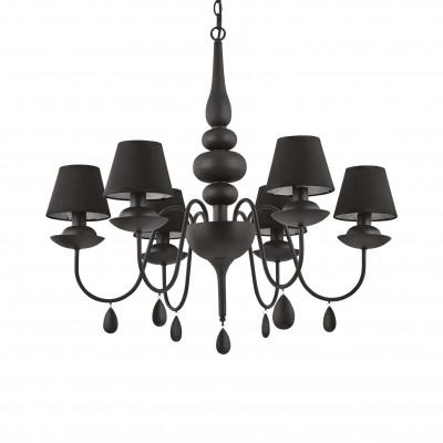 Ideal Lux - Provence - BLANCHE SP6 - Lampada a sospensione - Nero - LS-IL-111872