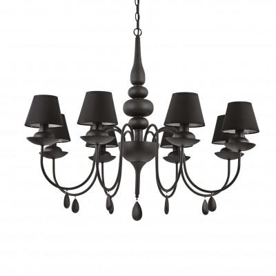 Ideal Lux - Provence - BLANCHE SP8 - Lampada a sospensione - Nero - LS-IL-111896