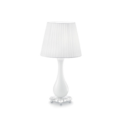 Ideal Lux - Provence - LILLY TL1 - Lampada da tavolo - Bianco - LS-IL-026084