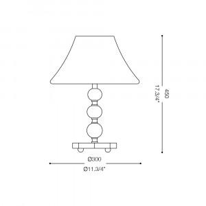 Ideal Lux - Provence - MAGIC-20 TL1 SMALL - Lampada da comodino
