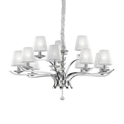 Ideal Lux - Provence - PEGASO SP12 - Lampada a sospensione - Bianco - LS-IL-066431