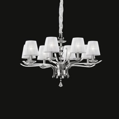Ideal Lux - Provence - PEGASO SP8 - Lampada a sospensione classica - Bianco - LS-IL-059242
