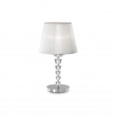 Ideal Lux - Provence - PEGASO TL1 BIG - Lampada da tavolo - Bianco - LS-IL-059259
