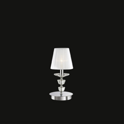 Ideal Lux - Provence - PEGASO TL1 SMALL - Lampada da tavolo - Bianco - LS-IL-059266