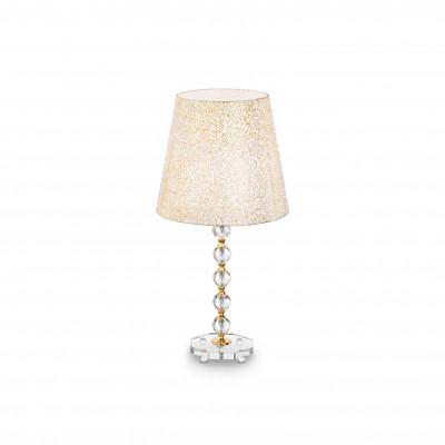 Ideal Lux - Provence - QUEEN TL1 BIG - Lampada da tavolo - Oro - LS-IL-077758