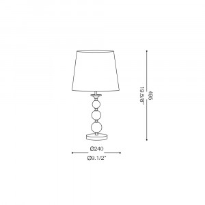 Ideal Lux - Provence - STEP TL1 SMALL - Lampada da tavolo