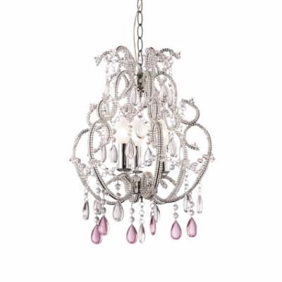 Ideal Lux - Provence - VIOLETTE SP3 - Lampada a sospensione - Argento - LS-IL-018072