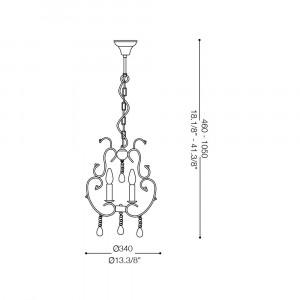 Ideal Lux - Provence - VIOLETTE SP3 - Lampada a sospensione