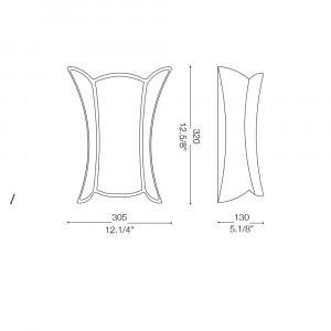 Ideal Lux - Rustic - APE AP1 BIG - Applique