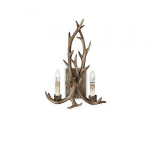 Ideal Lux - Rustic - Chalet AP2 - Lampada da parete