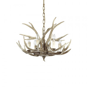 Ideal Lux - Rustic - Chalet SP6 - Lampada a sospensione