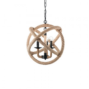 Ideal Lux - Rustic - Corda SP3 - Lampada a sospensione