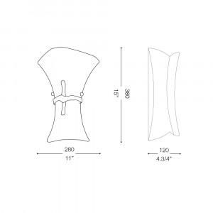 Ideal Lux - Rustic - FIOCCO AP1 BIG - Applique