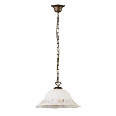 Ideal Lux - Rustic - FOGLIA SP1 D40 - Lampada a sospensione - Ambra - LS-IL-007533