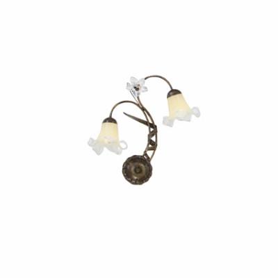 Ideal Lux - Rustic - TIROL AP2 - Applique - Ruggine - LS-IL-024523