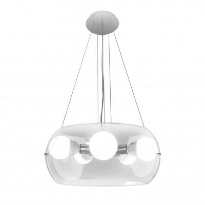 Ideal Lux - Sfera - AUDI-10 SP5 - Lampada a sospensione - Cromo - LS-IL-016863