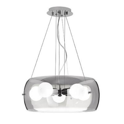 Ideal Lux - Sfera - AUDI-10 SP5 - Lampada a sospensione - Fumé - LS-IL-103983