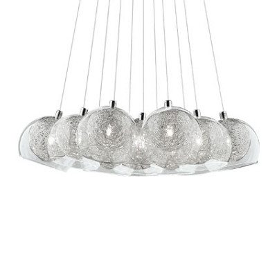 Ideal Lux - Sfera - CIN CIN SP11 - Lampada sospensione 11 luci - Cromo - LS-IL-060224