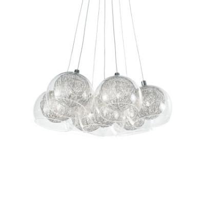 Ideal Lux - Sfera - CIN CIN SP7 - Lampada a sospensione 7 luci - Cromo - LS-IL-060231
