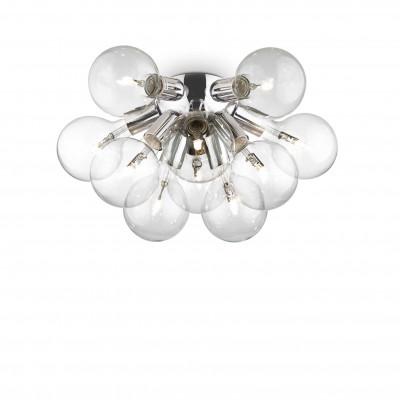 Ideal Lux - Sfera - DEA PL10 - Lampada da parete / plafoniera - Cromo - LS-IL-074740