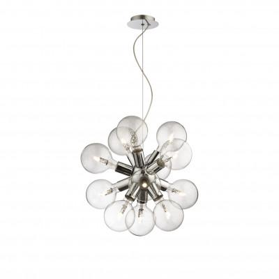 Ideal Lux - Sfera - DEA SP12 - Lampada a sospensione - Cromo - LS-IL-074771