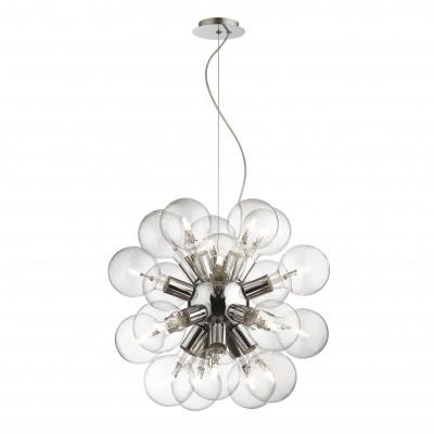 Ideal Lux - Sfera - DEA SP20 - Lampada a sospensione - Cromo - LS-IL-074801