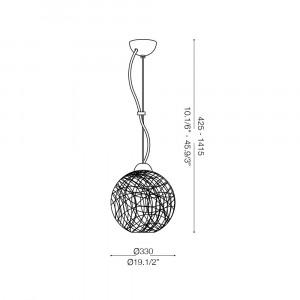 Ideal Lux - Sfera - EMIS SP1 D33 - Lampada a sospensione