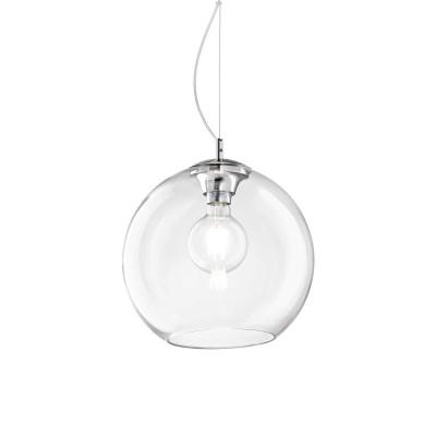 Ideal Lux - Sfera - NEMO SP1 D30 - Lampada a sospensione - Trasparente - LS-IL-052809