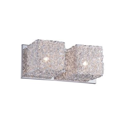 Ideal Lux - Silver - QUADRO AP2 - Applique - Grigio alluminio - LS-IL-031675