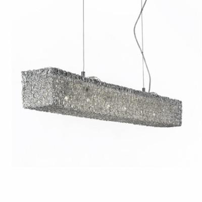 Ideal Lux - Silver - QUADRO SP6 - Lampada a sospensione - Grigio alluminio - LS-IL-062501