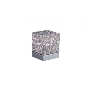 Ideal Lux - Silver - QUADRO TL1 - Lampada da tavolo