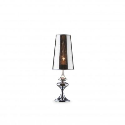 Ideal Lux - Smoke - ALFIERE TL1 SMALL - Lampada da comodino - Cromo - LS-IL-032467