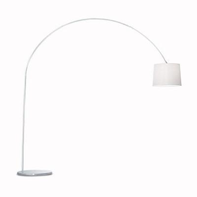 Ideal Lux - Smoke - DORSALE PT1 - Lampada da pavimento - Bianco - LS-IL-012605