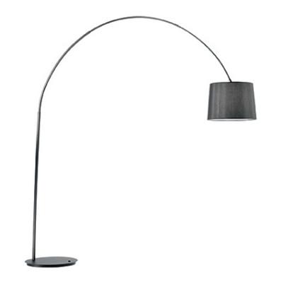 Ideal Lux - Smoke - DORSALE PT1 - Lampada da pavimento - Total Black - LS-IL-091983