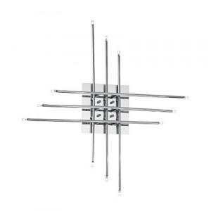 Ideal Lux - Tip Top - Tip Top PL12 - Lampada di design in metallo cromato