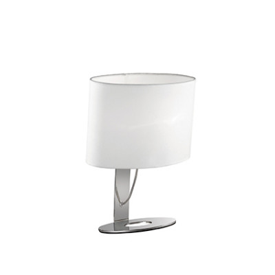 Ideal Lux - Tissue - DESIREE TL1 SMALL - Lampada da tavolo - Cromo - LS-IL-074870