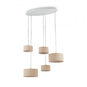 Ideal Lux - Tissue - Ekos SP5 Round - Lampada a sospensione