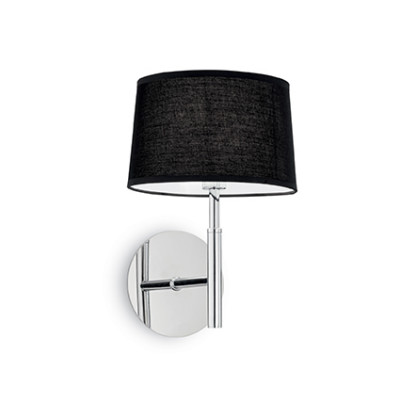 Ideal Lux - Tissue - HILTON AP1 - Applique - Nero - LS-IL-164601